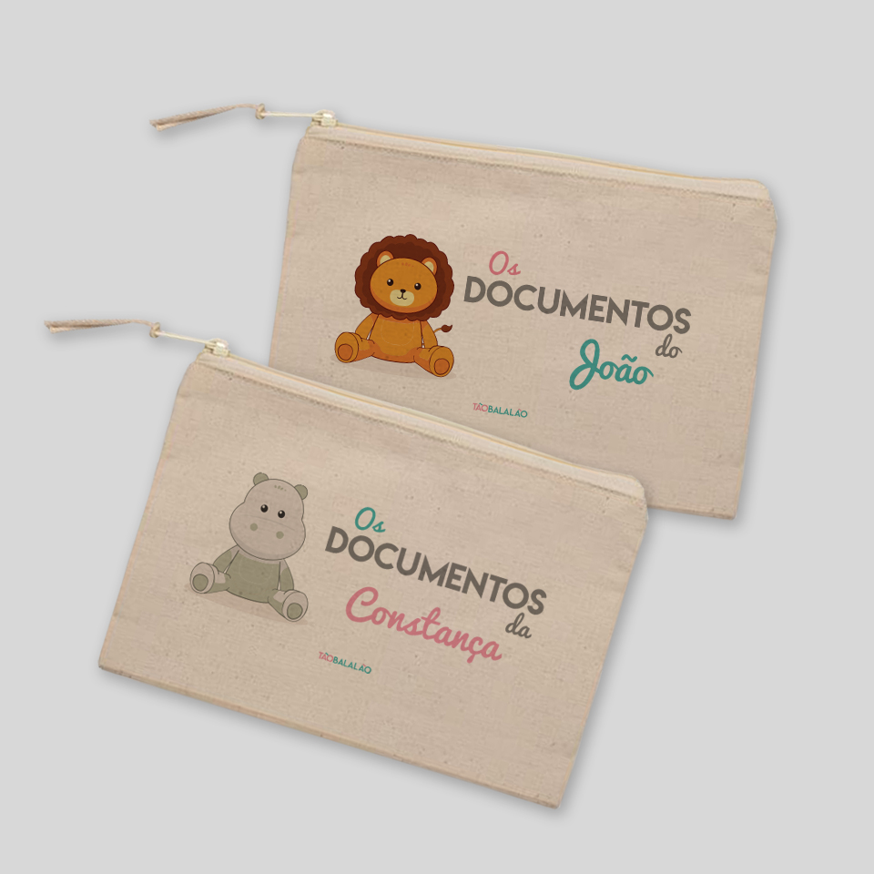 BOLSA DOCUMENTOS ANIMAL TERRA